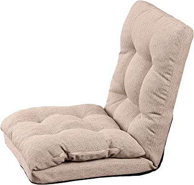 武田コーポレーション 【座椅子・いす・折りたたみ】 北欧風 ごろ寝座椅子 BR K9-HGZ46BR