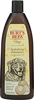 Burt's Bees For Dogs Care Plus Natural Hydrating Shampoo With Coconut Oil | Puppy and Dog Shampoo, 16 Ounces