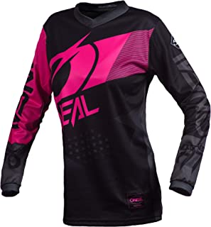 O'Neal Element Factor Women's Jersey (Black/Pink, M)