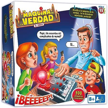 Play Fun La Maquina De La Verdad En Espanol Juego De Mesa Divertido Para Ninos A Partir De 8 Anos Amazon Es Juguetes Y Juegos