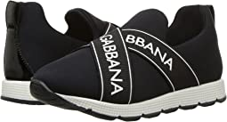 Dolce & Gabbana Kids - Black Sneaker(Little Kid)