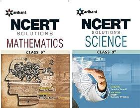 NCERT Solutions - Class 9 - Maths, Science (Set of 2 books)