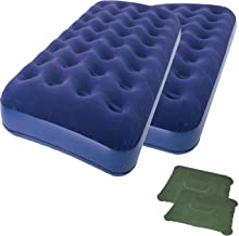 2-Piece of Zaltana Double Size Air Mattress 2 Inflatable Pillow Combo (AMD+PL1) x2
