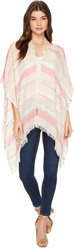 Echo Design - Pacific Stripe Ruana Poncho