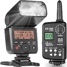 Altura Photo AP-305S Camera Flash and Wireless Manual Trigger for Sony A7III,A7II, A7, A7RII, A7RIII, A7RIV, A7SII, A6500, A6400, A6300, A6100, A6000, A9-2.4GHz TTL Speedlite for Mirrorless Cameras
