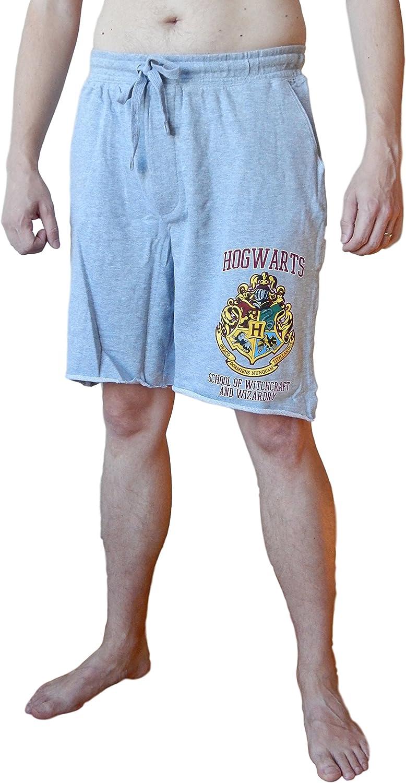 Harry Potter Hogwarts Men's Sleep Shorts