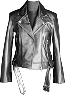 SOMINEMI Ladies Leather Jacket, Chiodo Lady