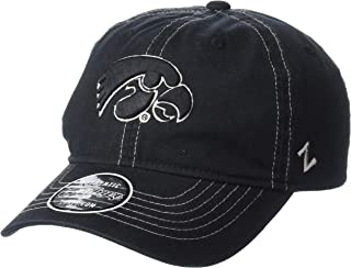 Zephyr NCAA Mens Solo Washed Cotton Relaxed Hat