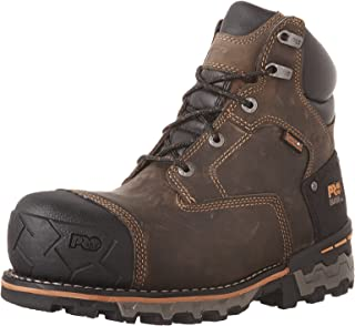 "Timberland PRO Mens CSA 6\"" Boondock Comp Toe PR WP-M CSA 6\"" Boondock Comp Toe Pr Wp-m Brown Size:"