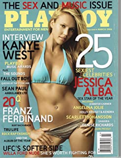 Playboy Magazine Jessica Alba Cover March 2006
