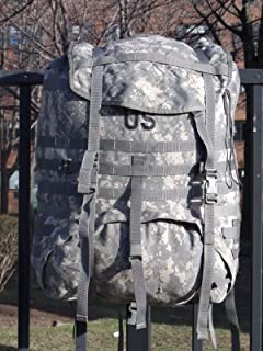 Specialty Defense Systems US Army Military MOLLE ll ACU Digital Camo Camouflage Large Main Bag Digital Rucksack NO Frame NO Straps NO Belt by US Government GI USGI
