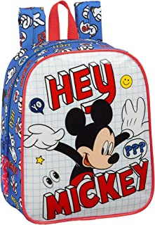 Mochila Safta Infantil de Mickey Clubhouse, 220 X 100 X 270 mm, Color Mickey Things