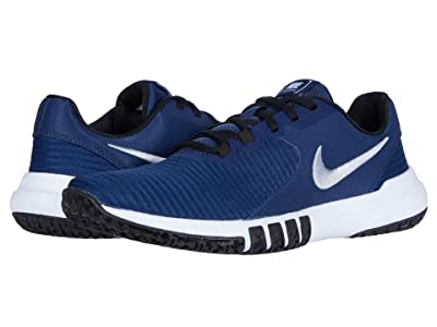 Nike Flex Control 4 (Midnight Navy/Metallic Silver/Black) Men