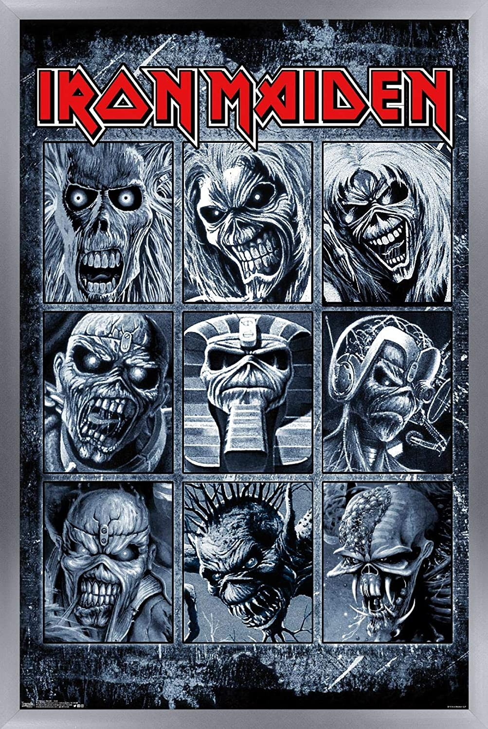Trends Popular brand in the world International Iron Maiden - 22.37 Album OFFicial shop Poster Grid Wall