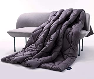 Queen Comforter All-Season - 100% Eucalyptus Fabric - Alternative Down Duvet - Organic Fluffy Cloud Cooling – Hypoallergenic Bedding Breathable Blanket Lightweight Temperature-Regulating (Queen, Grey)