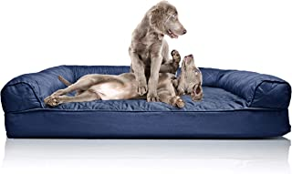 FurHaven Pet Dog Bed | Sofa-Style Couch Pet Bed for Dogs & Cats - Available in Multiple Colors & Styles