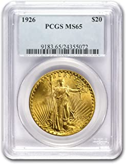 1926 $20 St. Gaudens Gold Double Eagle MS-65 PCGS G$20 MS-65 PCGS