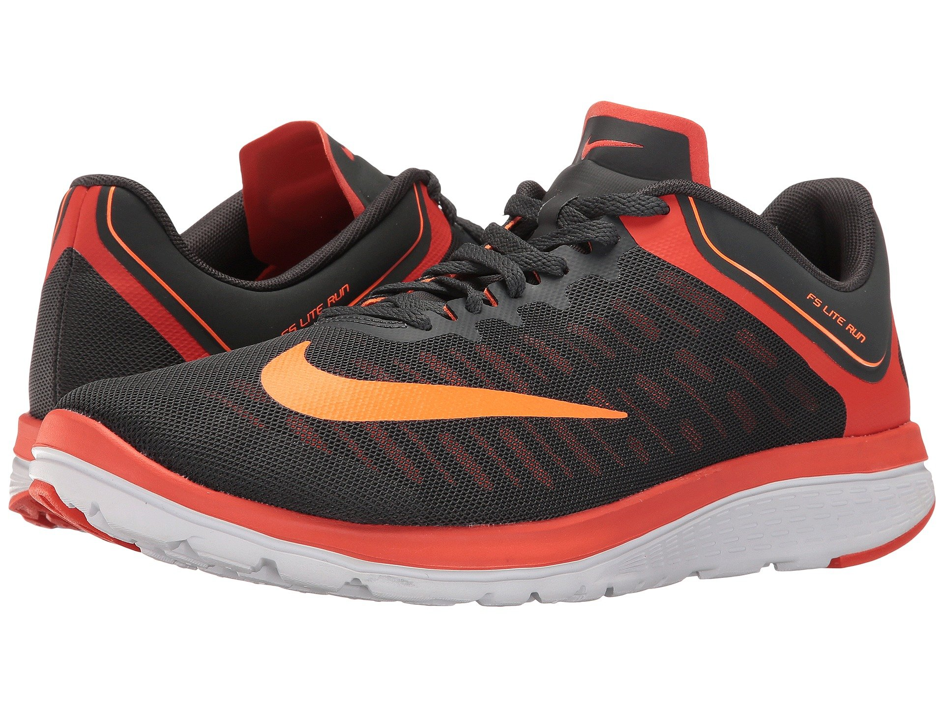 NIKE Fs Lite Run 4, Anthracite/Total Orange/Team Orange/White