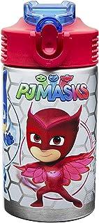 Zak Designs - Máscaras de plástico para sándwich, Catboy, Owlette y Gekko, Botella de acero inoxidable, 0, 0, 1