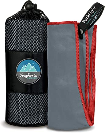 Youphoria Outdoors Microfiber Quick Dry Travel Towel -...
