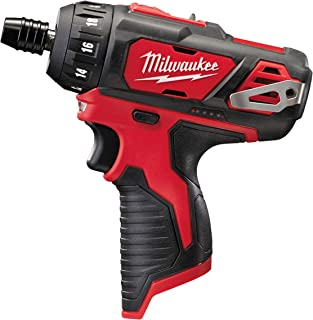 Milwaukee 4933441910 M12 BD-0 12 V Screwdriver Without Battery, Multi-Colour