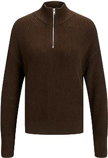 JACK & JONES Jjxx Jxleya Ls Twist Half Zip Knit Noos dames Pullover trui