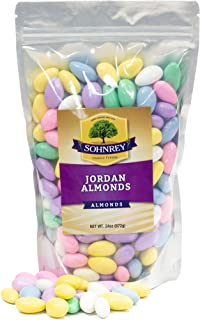 Jordan Almonds Wedding Holiday Party Favor Candies in Colorful Assorted Pastel Mix (24 oz) by Sohnrey Family Foods …