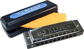 BJ Blues 283520 Folk Blues 10-Hole Diatonic Harmonica