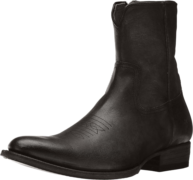 FRYE Men's Austin Inside Zip Western Boot