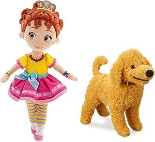Disney Store Original Fancy Nancy & Frenchy Plush Doll Set 14 Inch