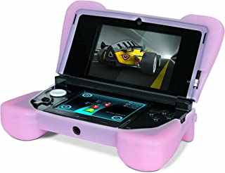 """Comfort Grip for Original 3DS (Not the """"NEW"""" version) – Silicone Protective Cover Gives Your 3DS Armor - (Pink)"""