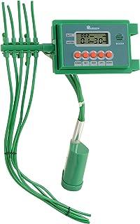Aqualin 10 Plantas Temporizador de riego Inteligente con Sistema de riego automático Controlador de riego por Goteo, Verde