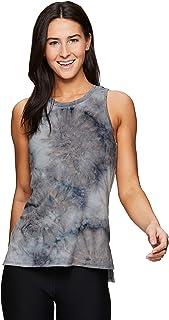 RBX Active Women's Fashion Basics Super Soft Flowy Yoga Tie Dye Tank Top
