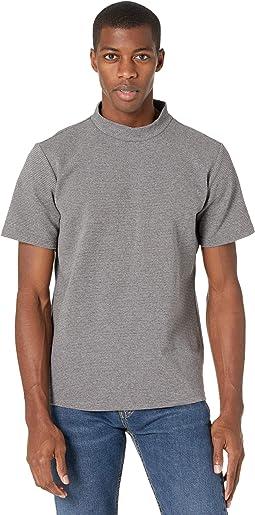 Adrian High Neck Short Sleeve T-Shirt