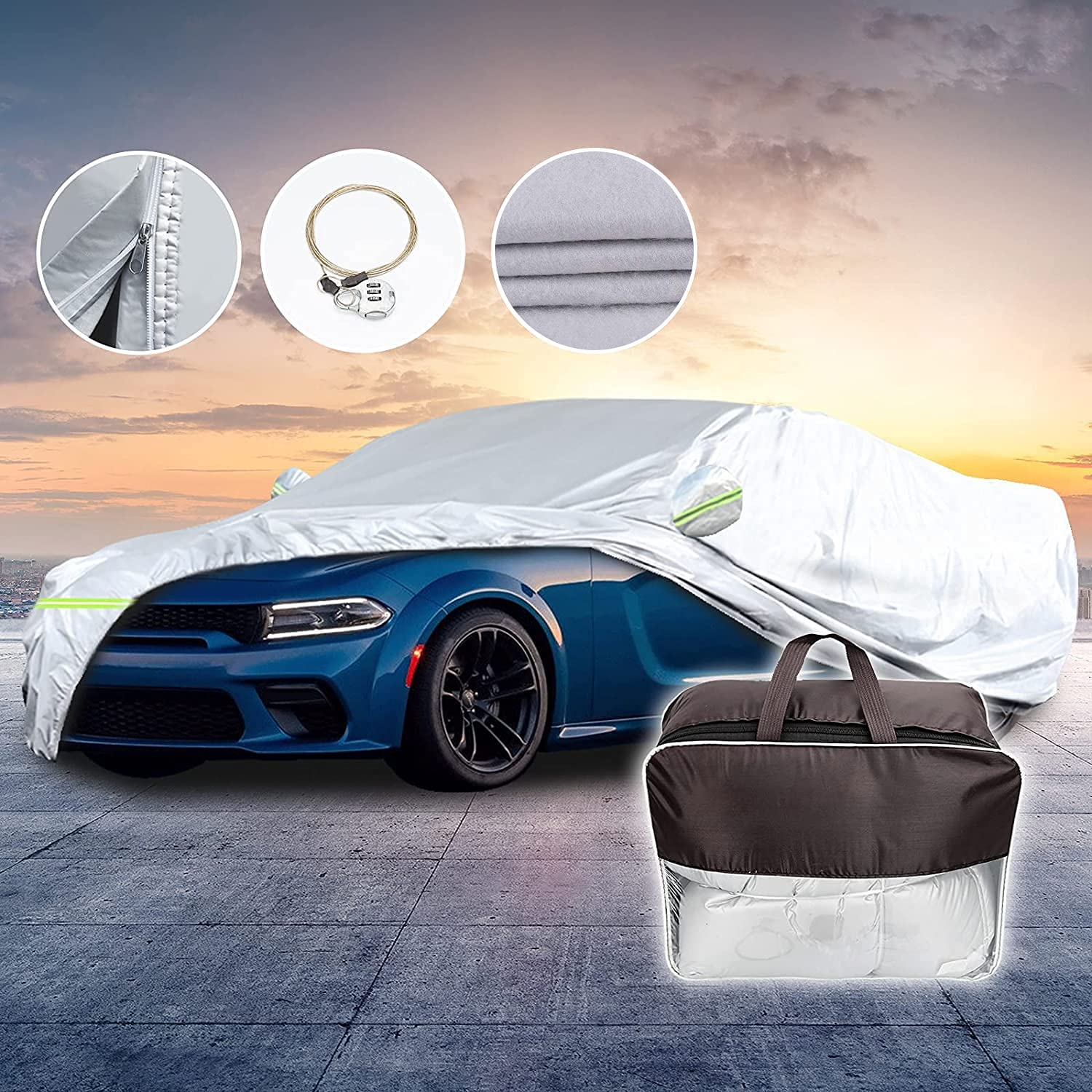 for Charger Car Award-winning Ranking TOP20 store Cover Compatible RWD Dodge SXT with 2020