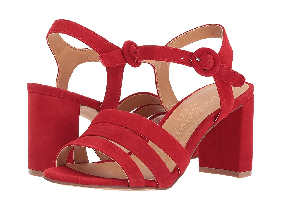 Chinese Laundry Ryden Sandal (Red Kid Suede) Women