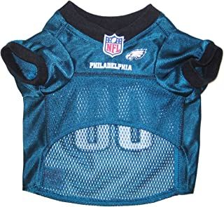 NFL PHILADELPHIA EAGLES DOG Jersey, Large for DOGS & CATS Shirt Apparel Jersey