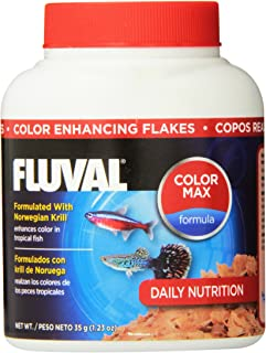 35gm Fluval Color Enhancing Flakes Fish Food, 1.23-Ounce