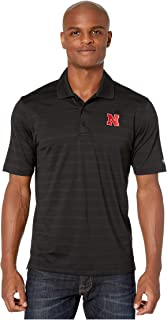 Champion College Men's Nebraska Cornhuskers Textured Solid Polo