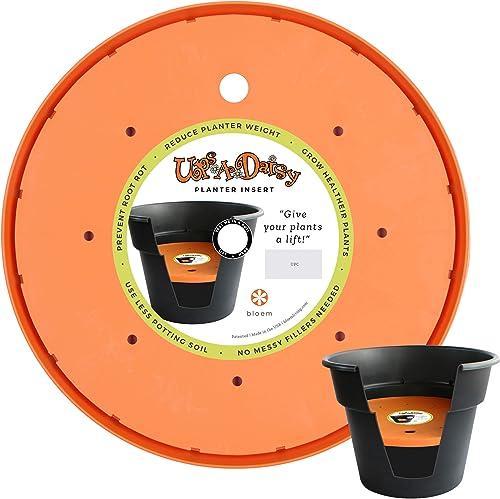 """wholesale Bloem Ups-A-Daisy Round Planter Lift lowest Insert (T6328), lowest Orange, 18"""" outlet online sale"""