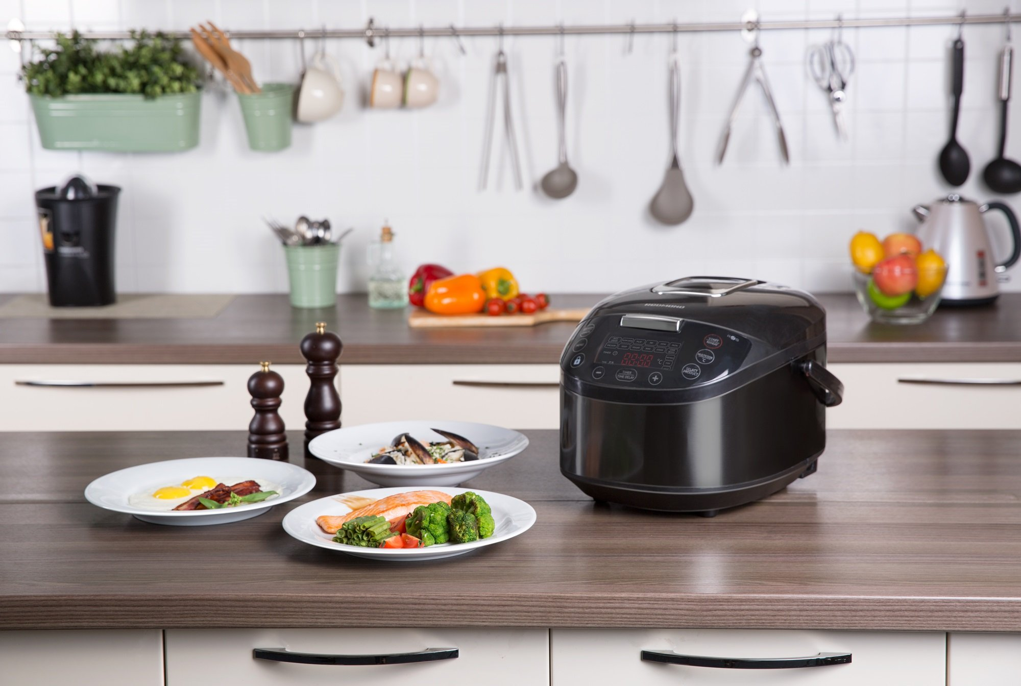 REDMOND SkyCooker M800S-E - Robot de cocina Smart, Wifi: Amazon.es ...