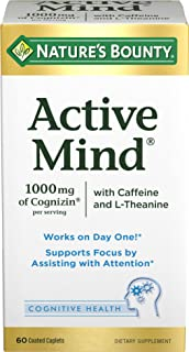 Nature's Bounty Active Mind, 60 Coated Caplets