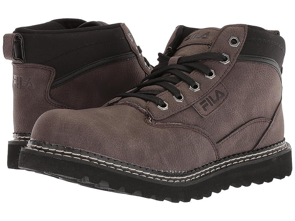 Fila Grunson Boot (Espresso/Black/Dark Silver) Men