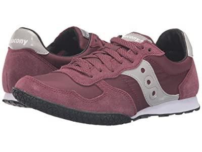 Saucony Originals Bullet (Burgundy) Women