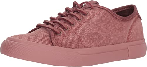 FRYE Wohommes Gia Gia Gia Canvas Faible Lace paniers, Dusty Rose, 6 M US 7d8