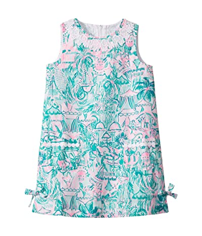 Lilly Pulitzer Kids Little Lilly Classic Shift Dress (Toddler/Little Kids/Big Kids) (Bright Agate Green) Girl