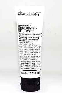 Charcoalogy Detoxifying Face Wash w/Eucalyptus & Green Tea 3.3oz