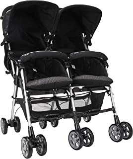 Combi Spazio Duo (114722) Twin Stroller, Black