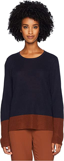 Tencel Silk Round Neck Top
