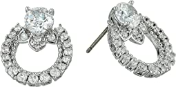 Marchesa - Rise and Shine Link Button Earrings